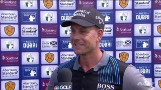 Stenson (65) bogey-free but 'not feeling the best with long game'